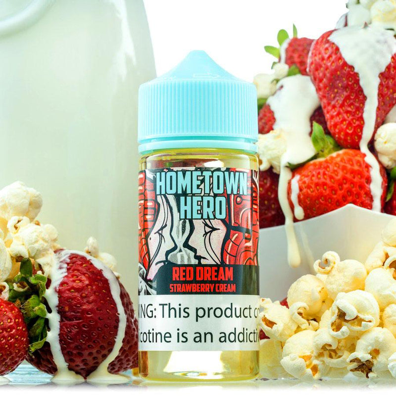 Red Dream: The Savory Strawberry Cream