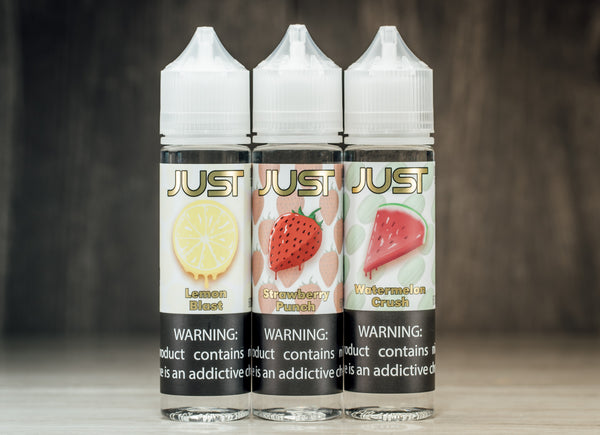 Just Vape Juice Line