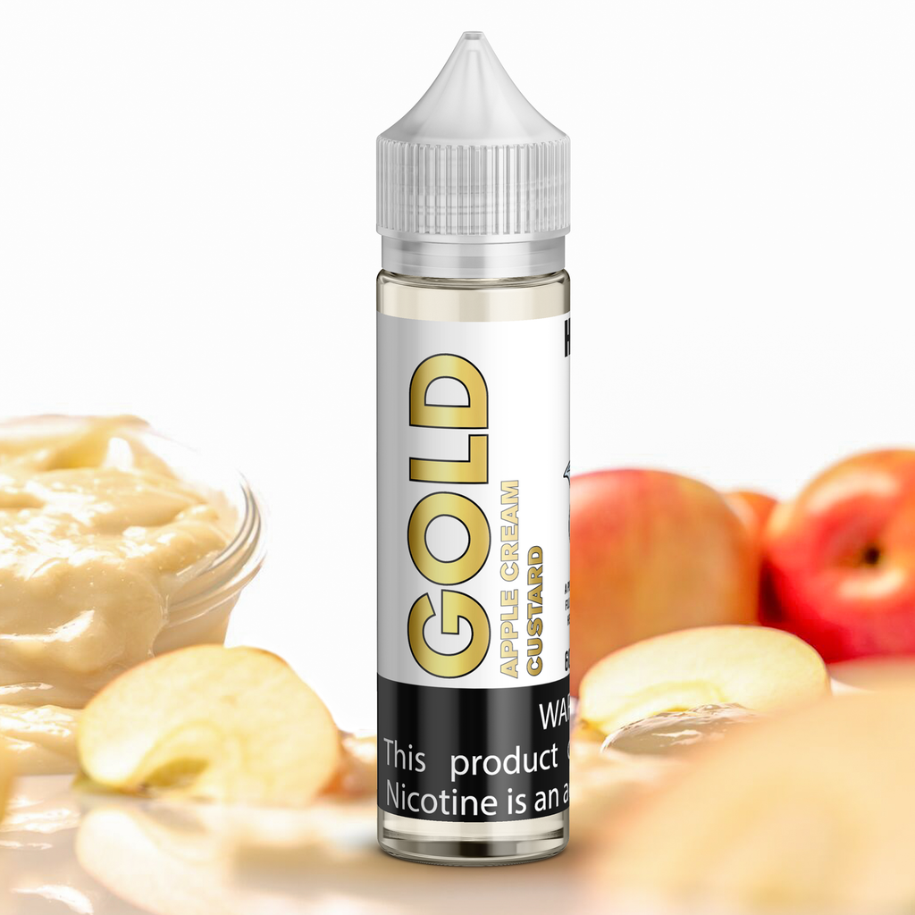 Gold Apple Cream Custard eJuice