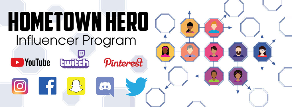 Hometown Hero Vape Affiliate Program - Influencer Program