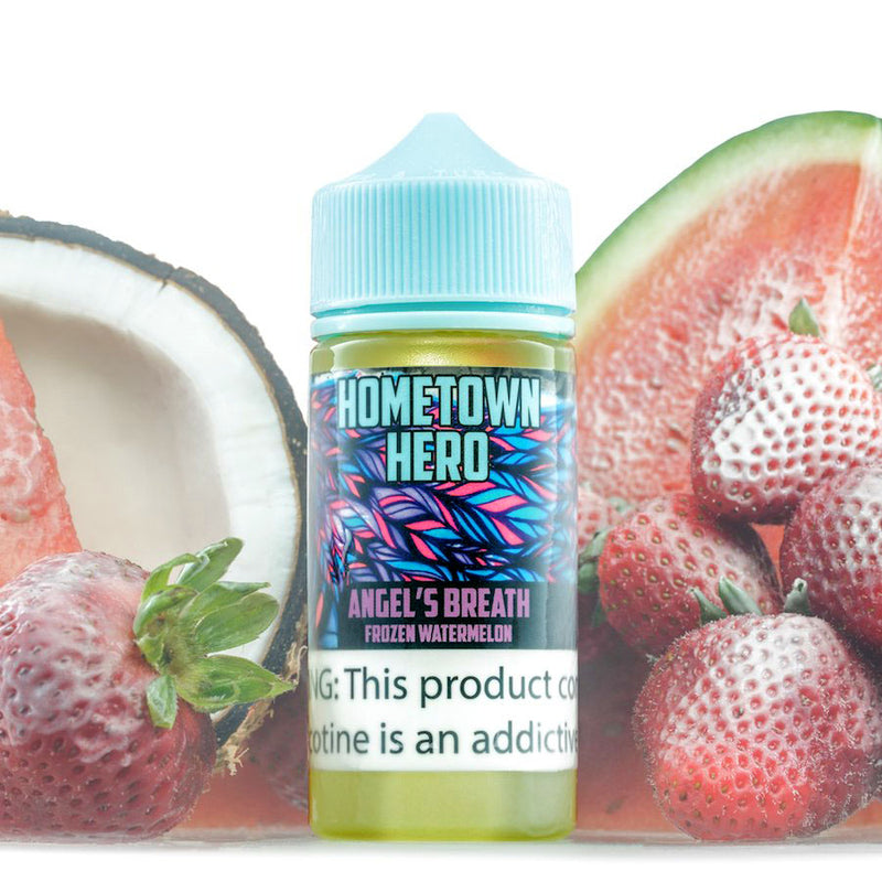 Angel's Breath Hometown Hero Artist Series 100ml eJuice