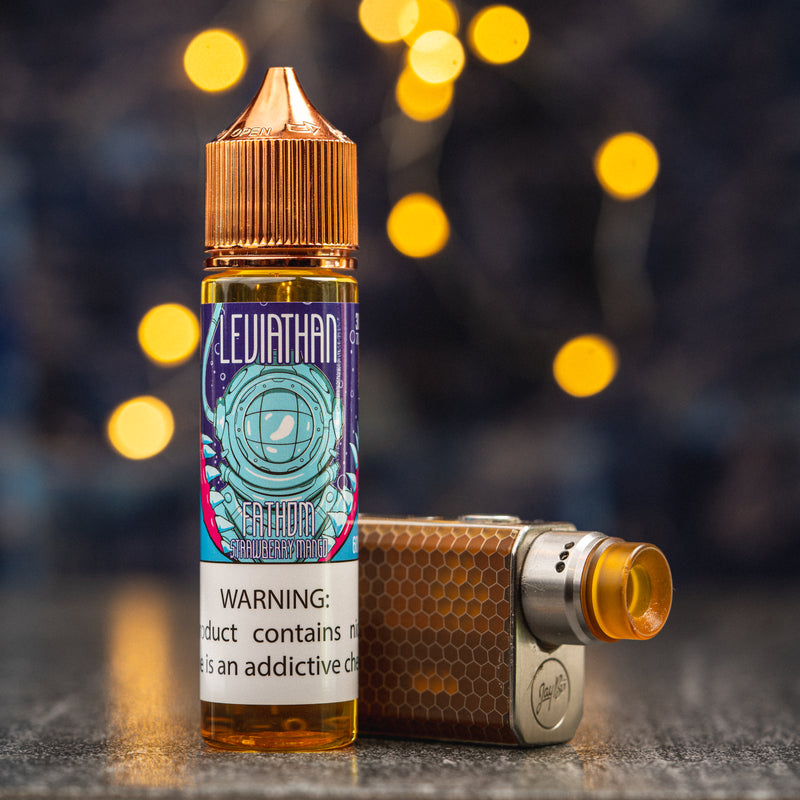 Leviathan Fathom eJuice with vape mod