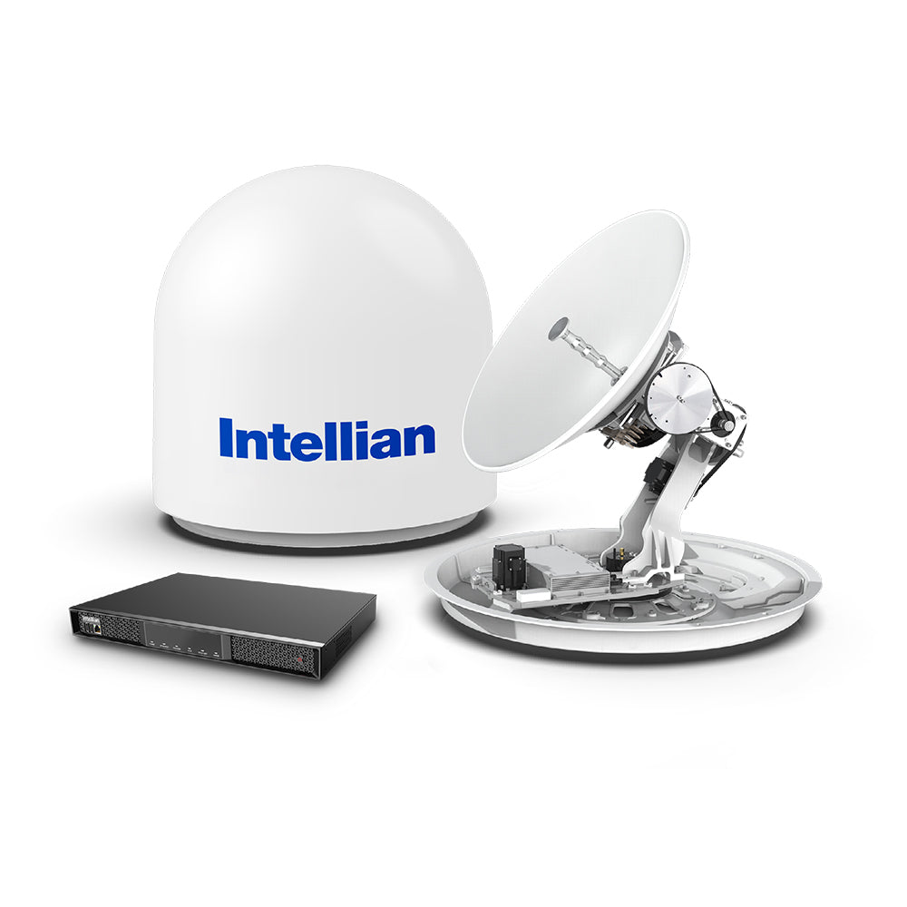 Intellian v60E 65cm Ku-band Maritime VSAT Antenna System - 6W Single Buc Single Cable - Lightweight [VE-60-E1YN]
