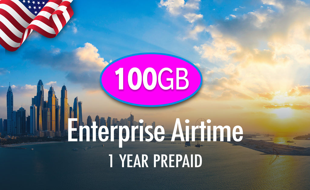 USA Enterprise 100GB, 1 Year Prepaid