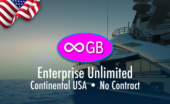 USA Enterprise Unlimited GB Prepaid Monthly $650