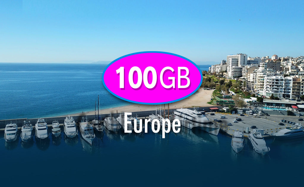 Europe 100GB 400 USD | All Countries | Marine Data Solutions