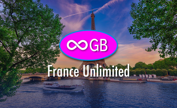 France Unlimited GB 4G LTE