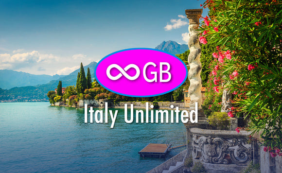 Italy Unlimited GB 4G LTE