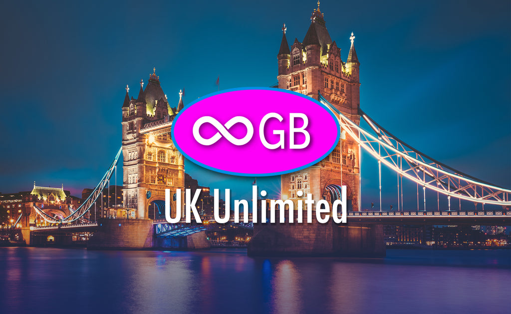 UK Unlimited GB 4G LTE