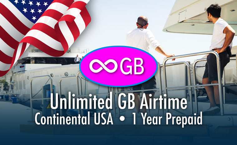 USA Unlimited GB - 1 Year Prepaid