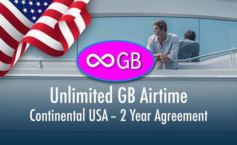 USA Unlimited GB - Prepaid 1st year - 2 Year Term