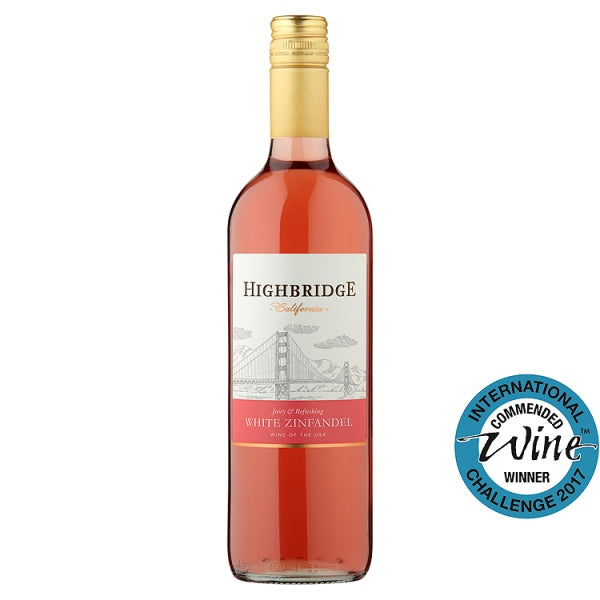 Highbridge White Zinfandel 75cl