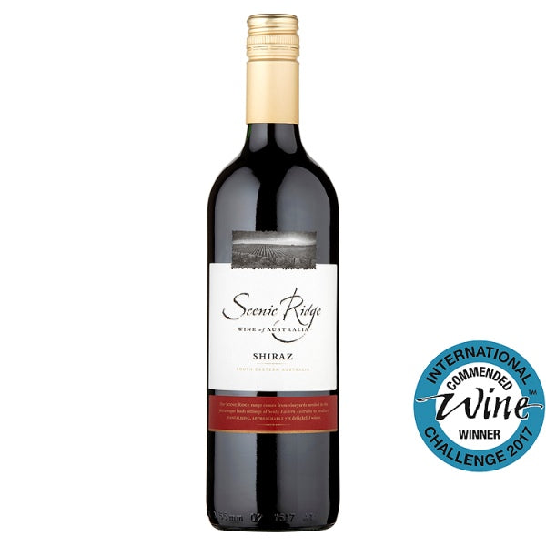 Scenic Ridge Shiraz 75cl