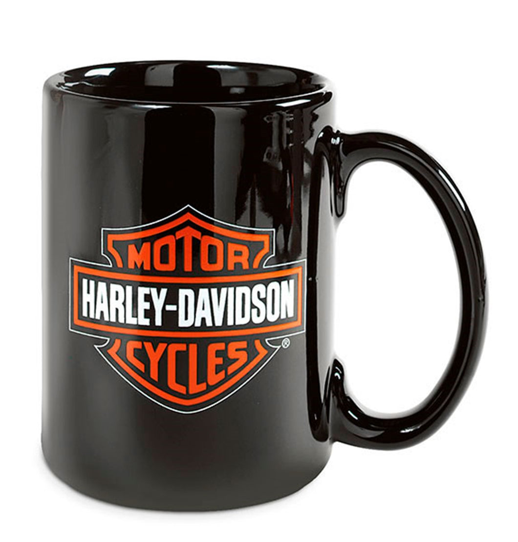 Bar & Shield Logo Decal Mug