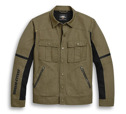 Washed Canvas Jacket