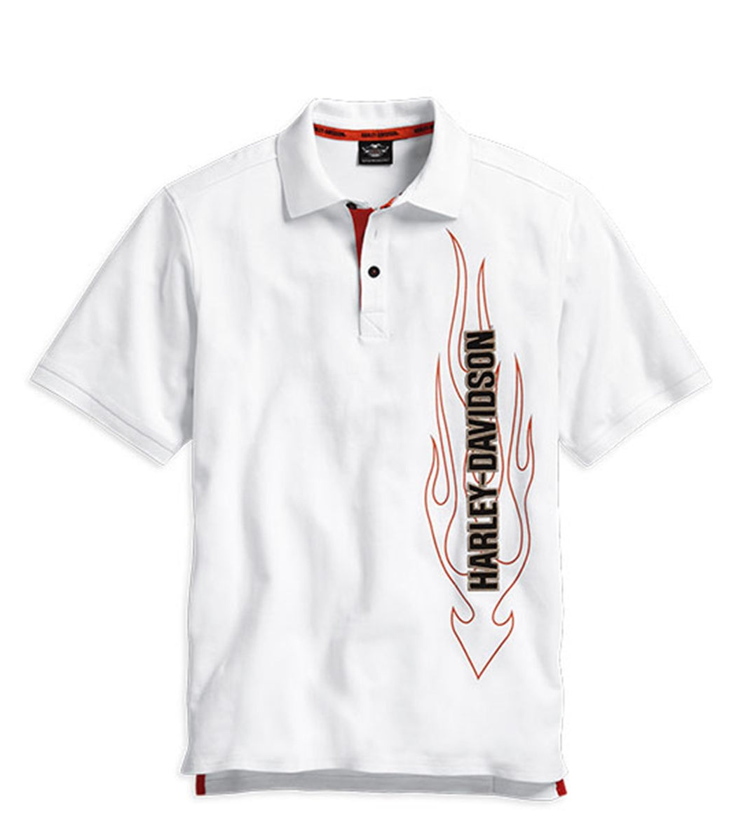 Flames Polo Shirt