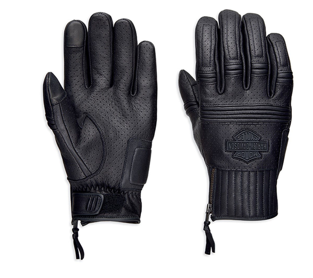 Layton Perforated Leather Gloves
