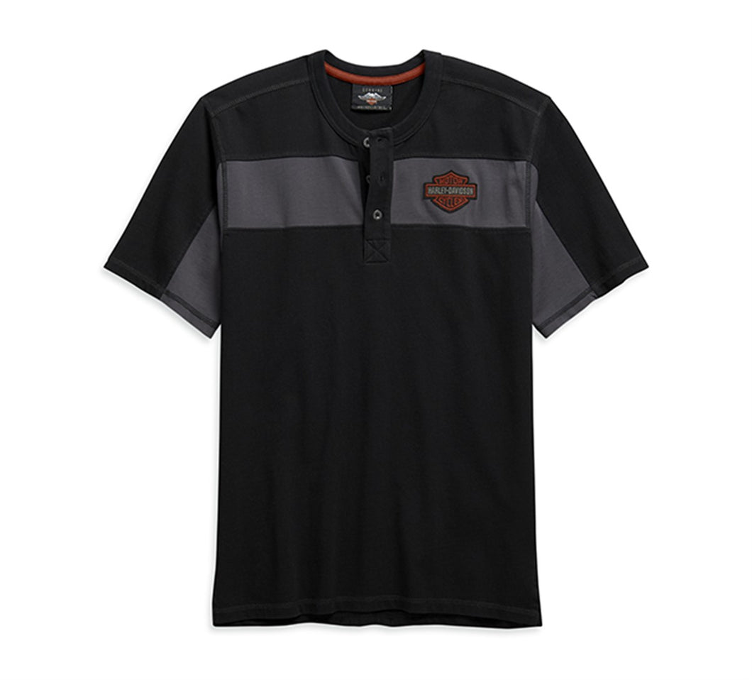 Copperblock Short Sleeve Henley