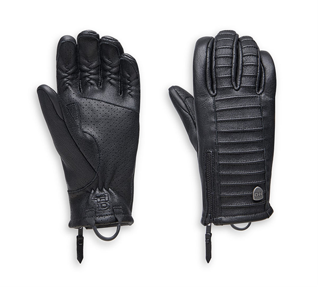 Ozello Perforated Leather Gloves