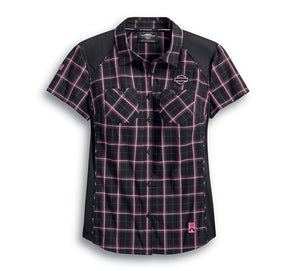 Pink Label Performance Plaid Shirt