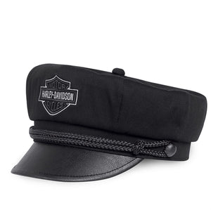 Bar & Shield Logo Biker Cap