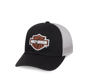 Logo Colorblock Trucker Cap