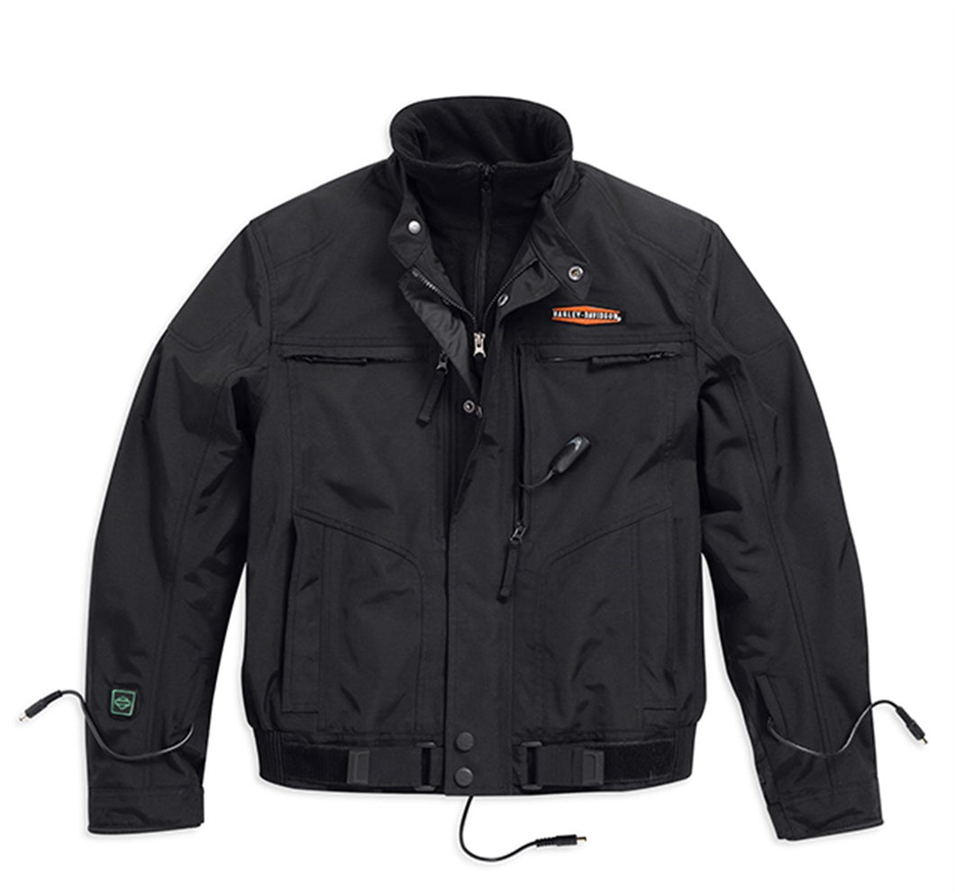 Heated Waterproof Dual-Source 12V Riding Jacket
