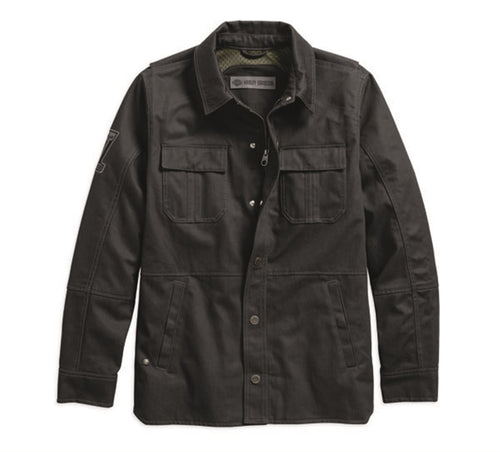 Trego Slim Fit Riding Shirt Jacket