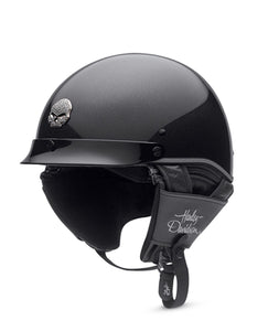Metal Flake Ultra-Light Half Helmet
