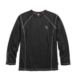 Performance Long Sleeve Tee with Coldblack Technology