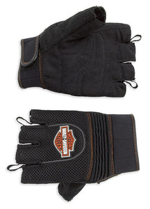 Fingerless Mesh Gloves