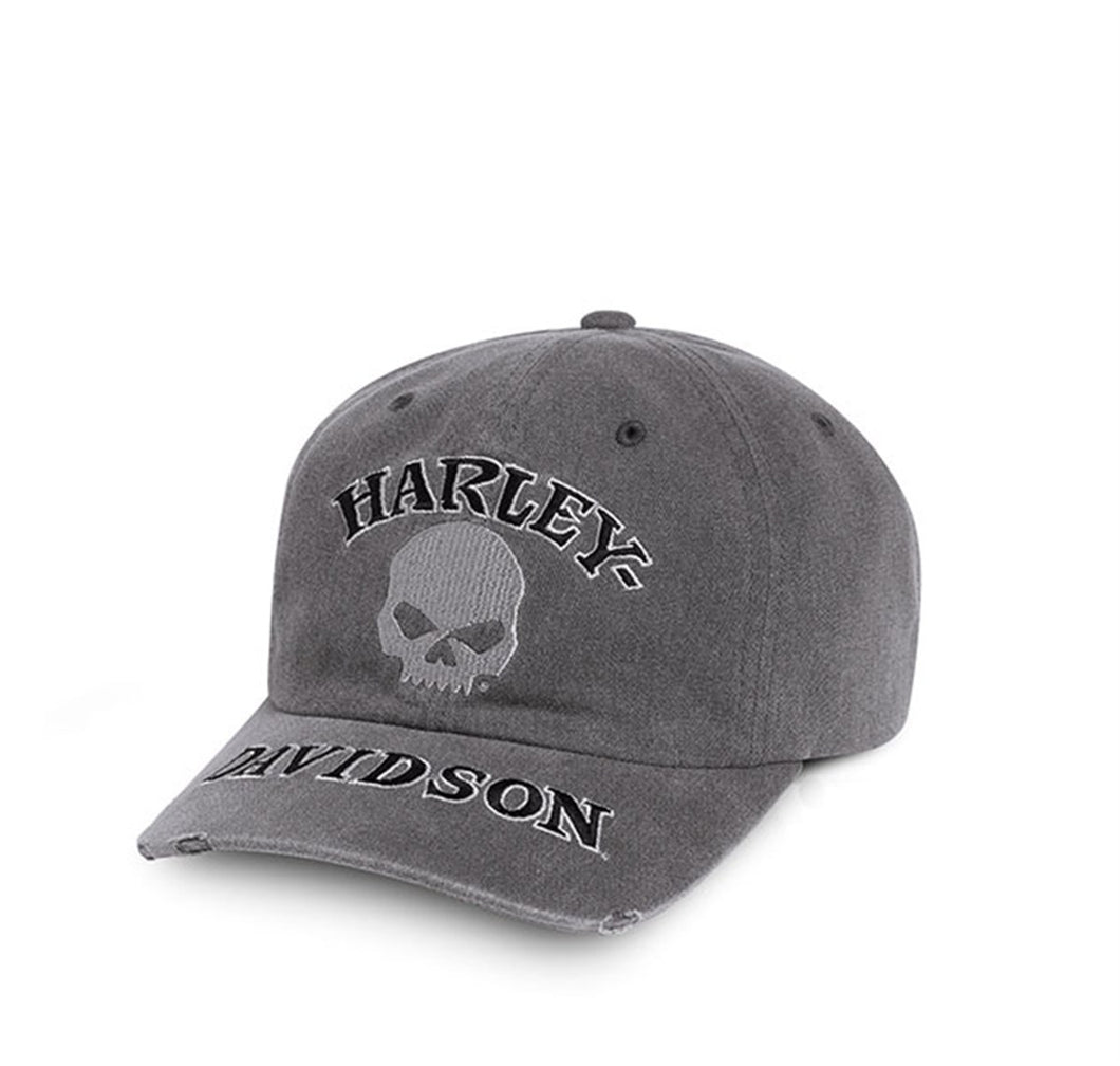 Skull Washed Cap