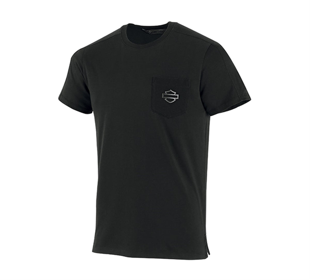 High Density Print Slim Fit Pocket Tee