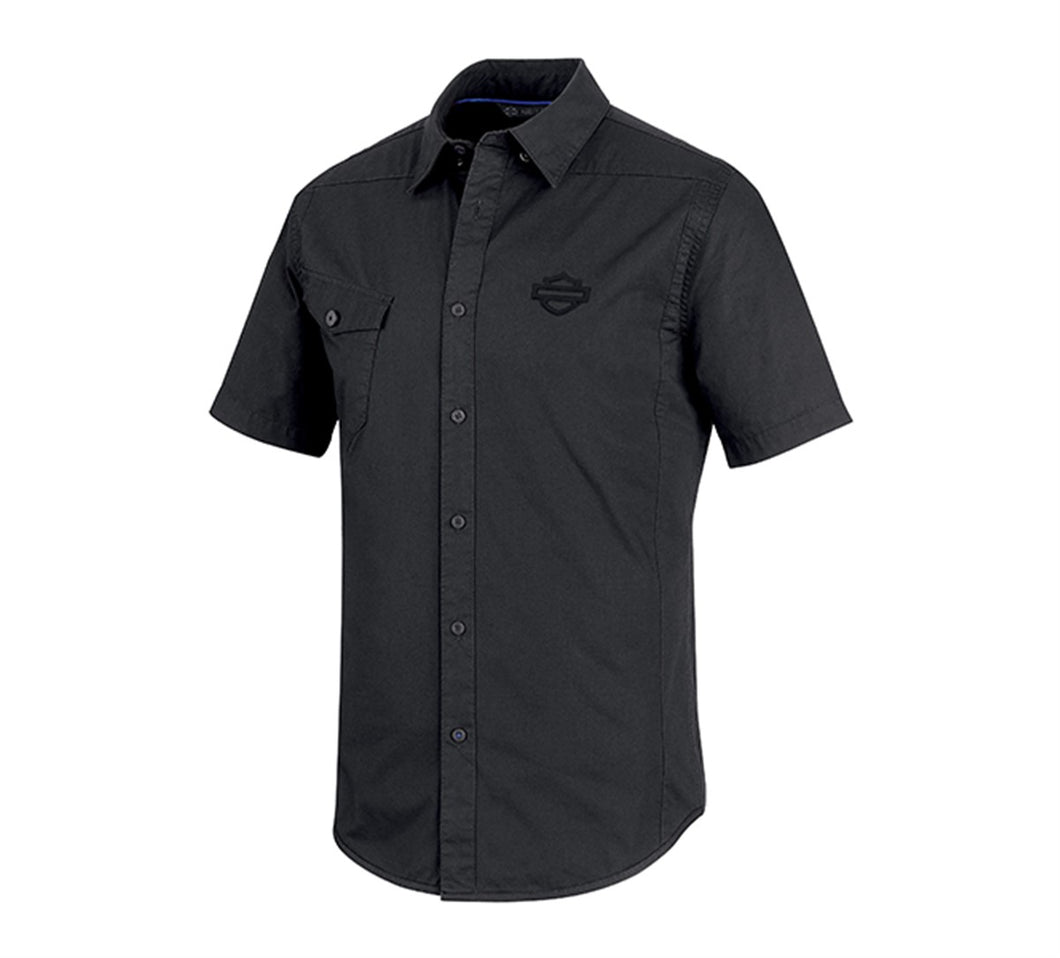 Performance Vented Stretch Slim Fit Shirt