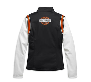 Embellished Logo Fleece Jacket