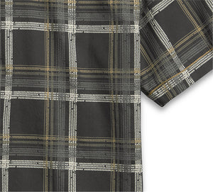 Tire Tread Plaid Shirt