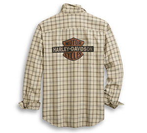 Vintage Logo Plaid Shirt