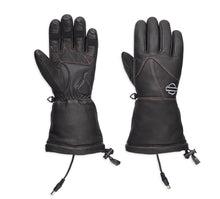 Heated BTC 12V Waterproof Leather Gauntlet Gloves