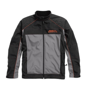 Recumbant Heated 7V Battery-Operated Soft Shell Jacket