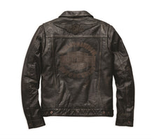 Digger Slim Fit Leather Jacket