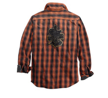 Oak Leaf Plaid Slim Fit Shirt
