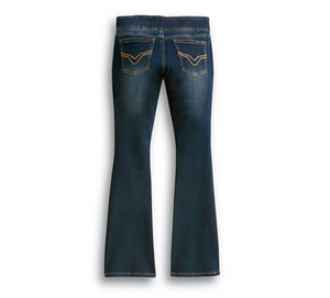 Bootcut Stretch Waistband Jeans