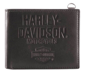 Harley-Davidson® Men's Legendary Leather Bi-Fold Wallet w/ RFID HDMWA11650