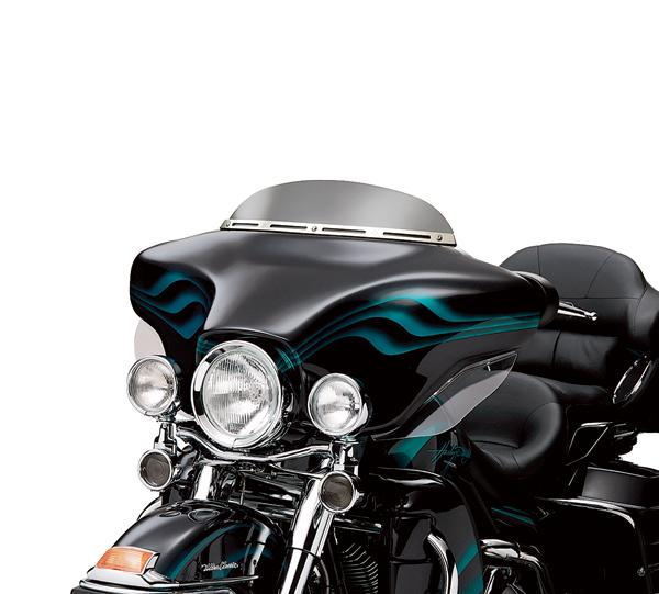Batwing Fairing Wind Deflector - Low Profile (58207-04)