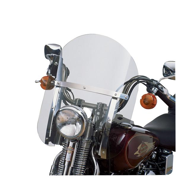 H-D Detachables Compact Windshield for Softail Springer Models (58770-96)