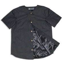Lords Black Canvas Baseball Cut