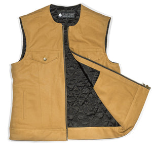 Lust 4 Dust Zip Canvas Vest
