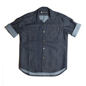 Johnny Con Short Sleeve Denim Shirt