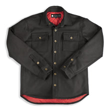 The Black Jack Flannel Shirt Jacket