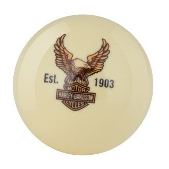 H-D B&S EAGLE CUE BALL